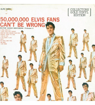 Elvis Presley - 50,000,000 Elvis Fans Can't Be Wrong - Elvis' Gold Records - Volume 2 (LP, Comp, Gol) mesvinyles.fr