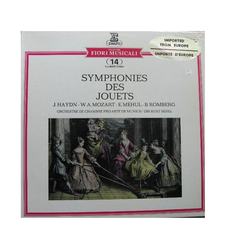 "J. Haydn*, W.A. Mozart*, E. Méhul*, B. Romberg*, Orchestre De Chambre ""Pro Arte"" De Munich* Dir. Kurt Redel - Symphonies Des Jo"