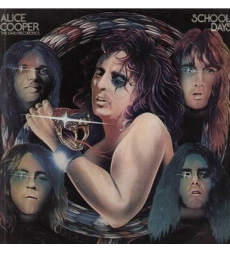 Alice Cooper - School Days - The Early Recordings (2xLP, Comp, Gat) mesvinyles.fr