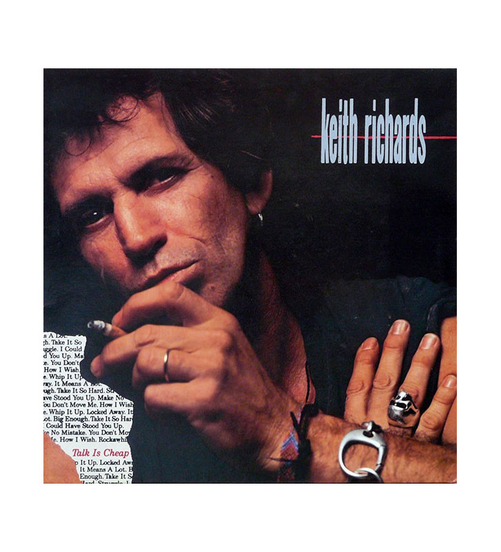 Keith Richards - Talk Is Cheap (LP, Album) mesvinyles.fr