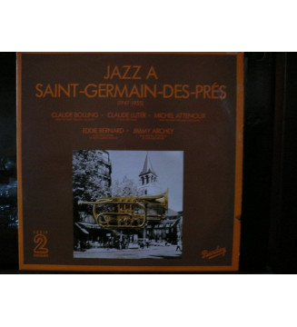 Various - Jazz À Saint-Germain-Des-Prés (1947-1955) (2xLP, Comp)