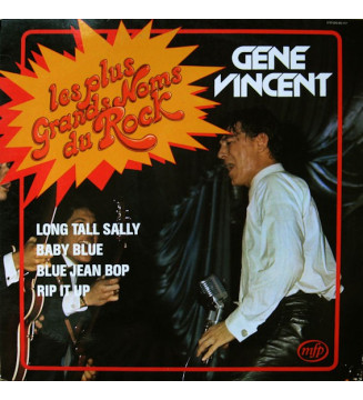 Gene Vincent - Les Plus Grands Noms Du Rock (LP, Comp, RE)