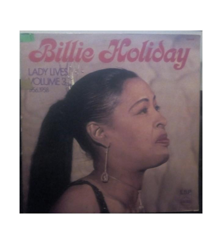 Billie Holiday - Lady Lives Volume 3 1956.1958 (LP, Album) mesvinyles.fr