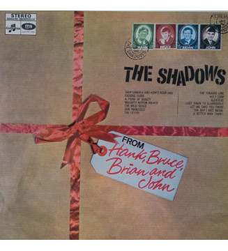 The Shadows - From Hank, Bruce, Brian & John (LP, Album, RE) mesvinyles.fr