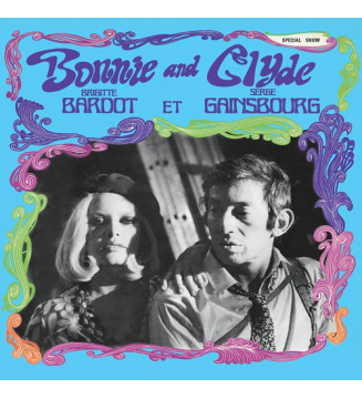 Serge Gainsbourg Et Brigitte Bardot - Bonnie And Clyde (LP, Comp, RE, 180) mesvinyles.fr