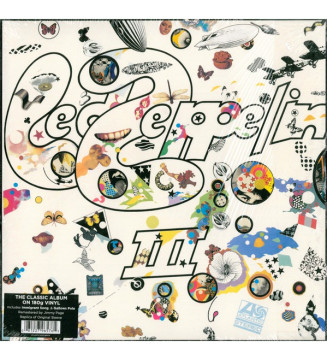 Led Zeppelin - Led Zeppelin III (LP, Album, RE, RM, 180) mesvinyles.fr