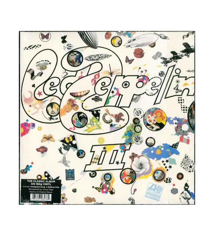 Led Zeppelin - Led Zeppelin III (LP, Album, RE, RM, 180) mesvinyles.fr