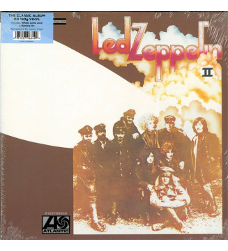 Led Zeppelin - Led Zeppelin II (LP, Album, RE, RM, 180) mesvinyles.fr