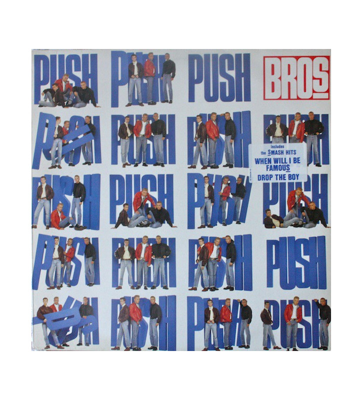 Bros - Push (LP, Album) mesvinyles.fr