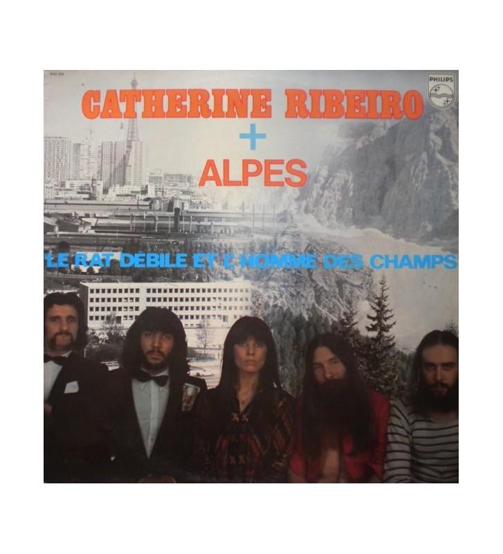 Catherine Ribeiro + Alpes - Le Rat Débile Et L'Homme Des Champs (LP, Album) mesvinyles.fr