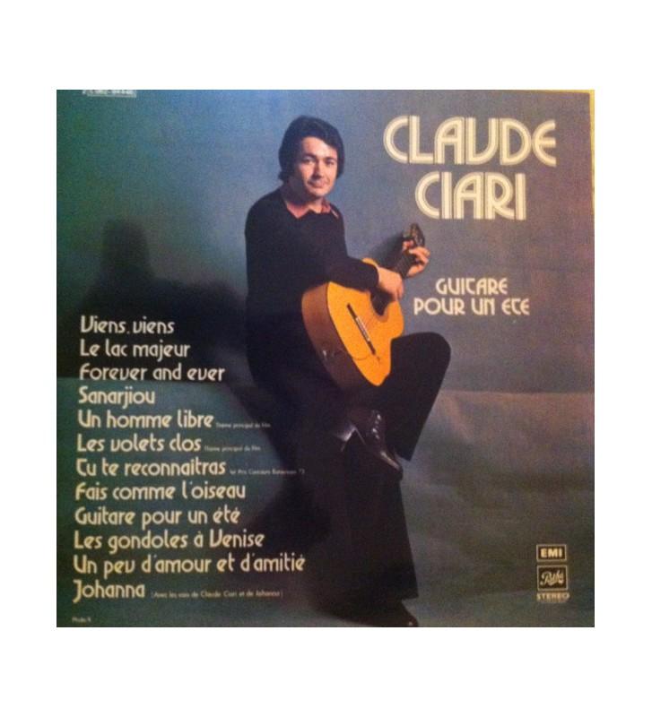 Claude Ciari - Guitare Pour Un Eté (LP, Album) mesvinyles.fr
