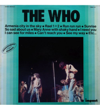 The Who - The Who (LP, Comp, RE) mesvinyles.fr