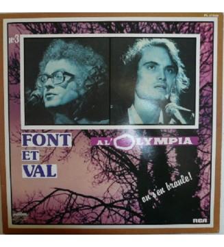 Font Et Val - N°3 / À L'Olympia / On S'En Branle! (LP, Album, Gat) mesvinyles.fr