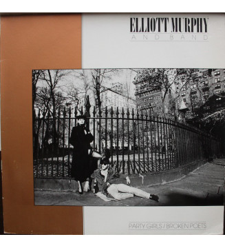 Elliott Murphy - Party Girls / Broken Poets (LP, Album) mesvinyles.fr