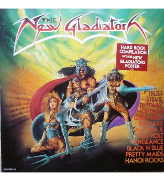The New Gladiators (LP, Comp) mesvinyles.fr