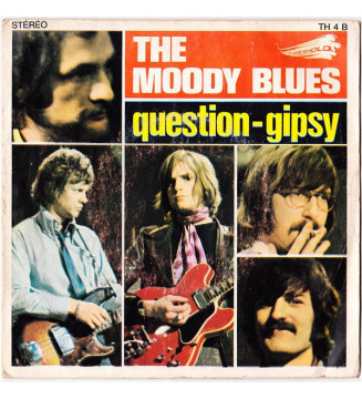 "The Moody Blues - Question / Gipsy (7"", Single) mesvinyles.fr"
