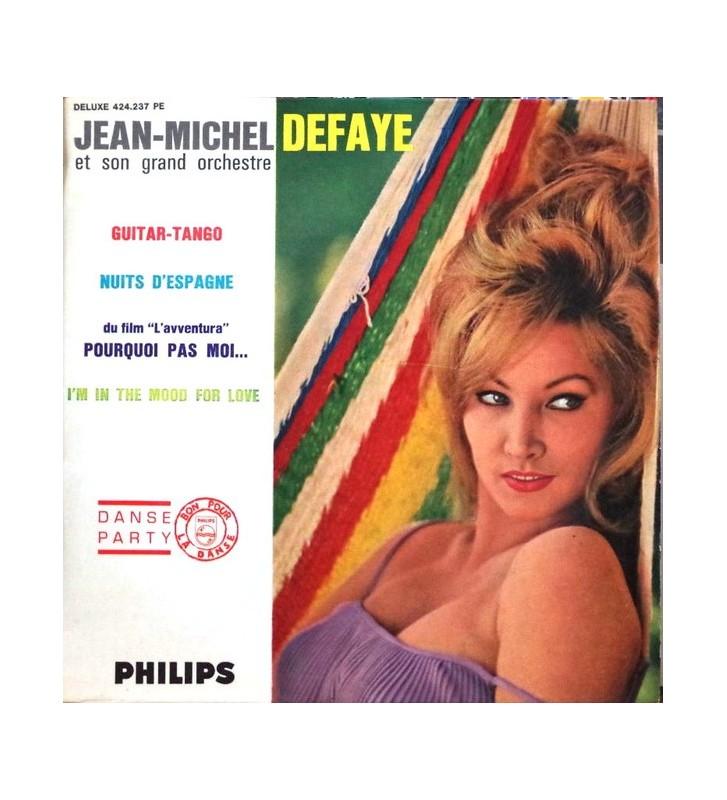 """Jean-Michel Defaye Et Son Orchestre - Guitar-Tango (7"""", EP) mesvinyles.fr"""