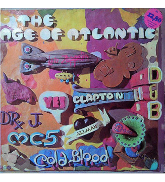 Various - The Age Of Atlantic (LP, Comp) mesvinyles.fr