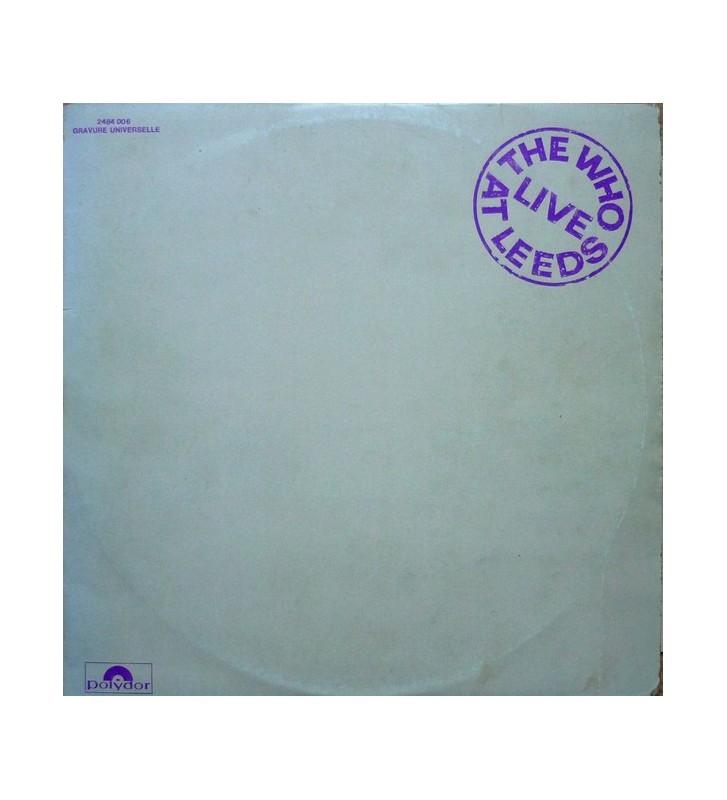 The Who - Live At Leeds (LP, Album) mesvinyles.fr