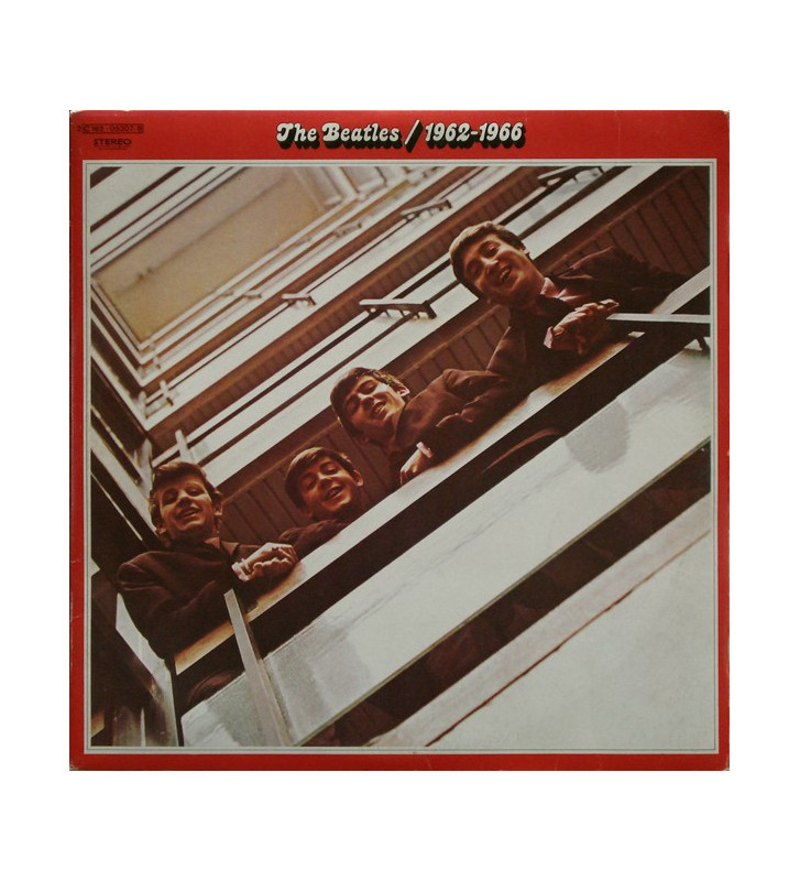 The Beatles - 1962-1966 (2xLP, Comp, RE, Gat) mesvinyles.fr