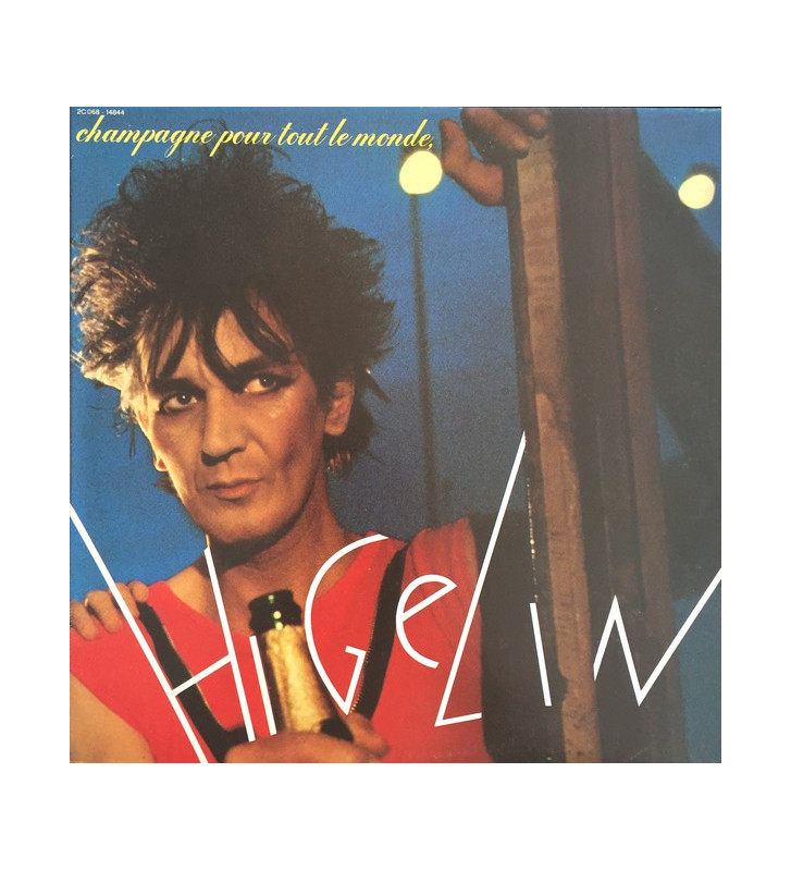 Jacques Higelin - Champagne Pour Tout Le Monde (LP, Album, Gat) mesvinyles.fr