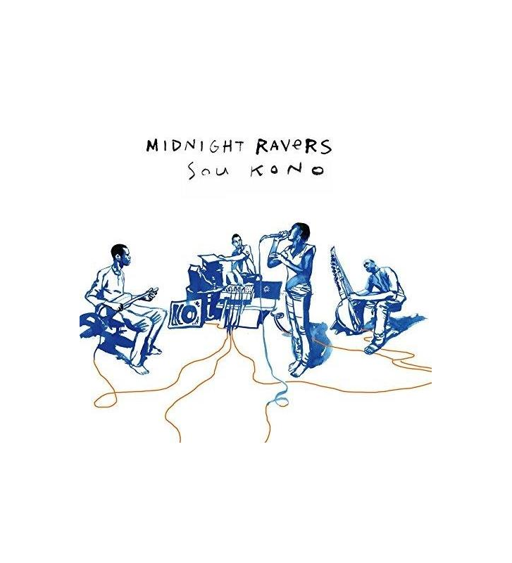 MIDNIGHT RAVERS - Sou Kono mesvinyles.fr
