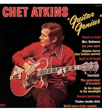 Chet Atkins - Guitar Genius (2xLP, Comp) mesvinyles.fr