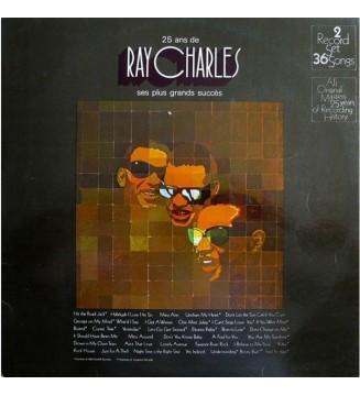 Ray Charles - 25 Ans De Ray Charles Ses Plus Grands Succès (2xLP, Comp, Gat) mesvinyles.fr