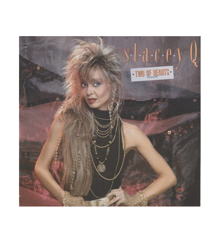 """Stacey Q -  Two Of Hearts (European Mix)  (12"""") mesvinyles.fr"""