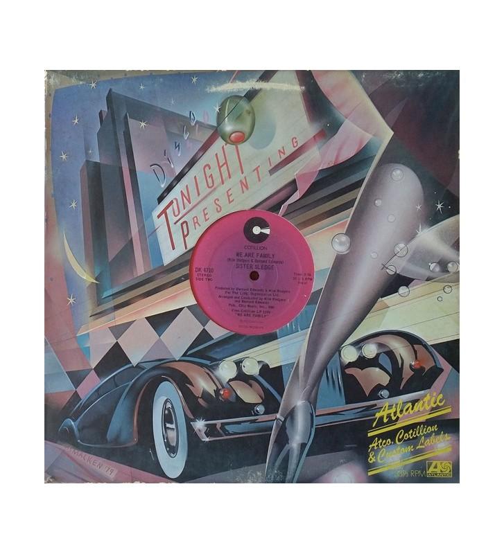 """Sister Sledge - He's The Greatest Dancer / We Are Family (12"""") mesvinyles.fr"""