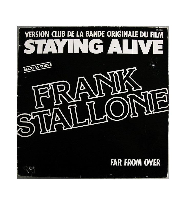 "Frank Stallone - Far From Over (12"", Maxi) mesvinyles.fr"