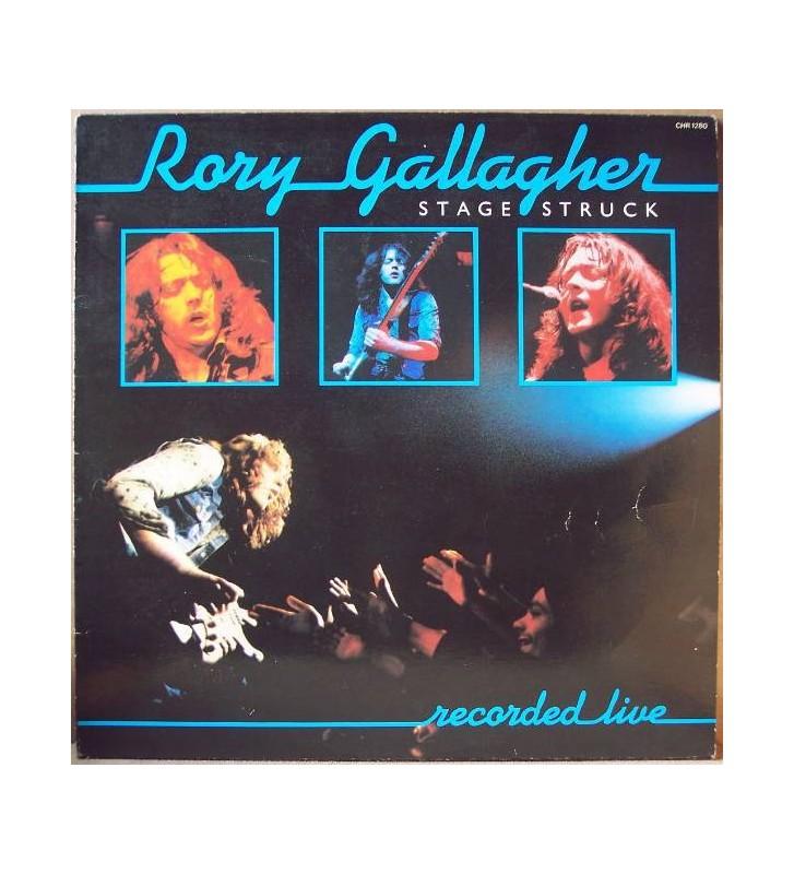Rory Gallagher - Stage Struck (LP, Album) mesvinyles.fr
