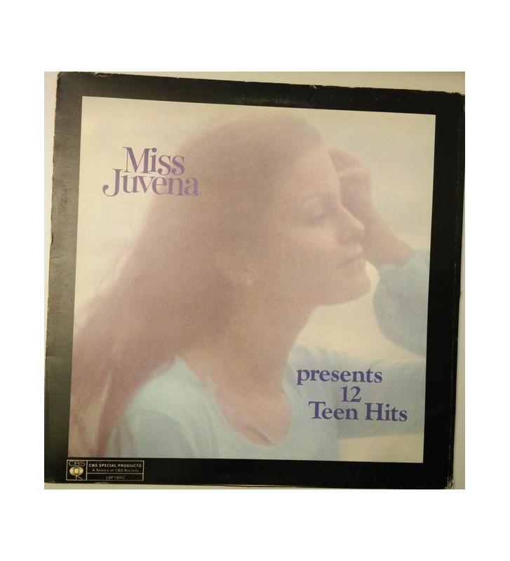 Various - Miss Juvena Presents 12 Teen Hits (LP, Comp) mesvinyles.fr