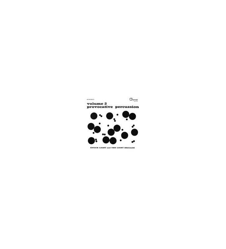 Enoch Light And The Light Brigade - Provocative Percussion Volume 2 (LP, Album, RE, Gat) mesvinyles.fr