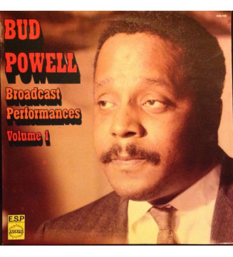 Bud Powell - Broadcast Performances 1953, Vol. 1 (LP) mesvinyles.fr