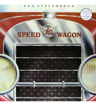 R.E.O. Speedwagon* - R.E.O. Speedwagon (LP, Album, Ltd, RE, RM, Red) mesvinyles.fr