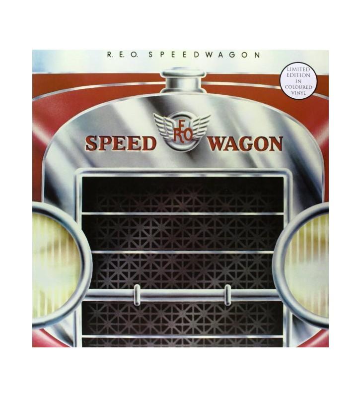 R.E.O. Speedwagon* - R.E.O. Speedwagon (LP, Album, Ltd, RE, RM, Red) mesvinyles.fr
