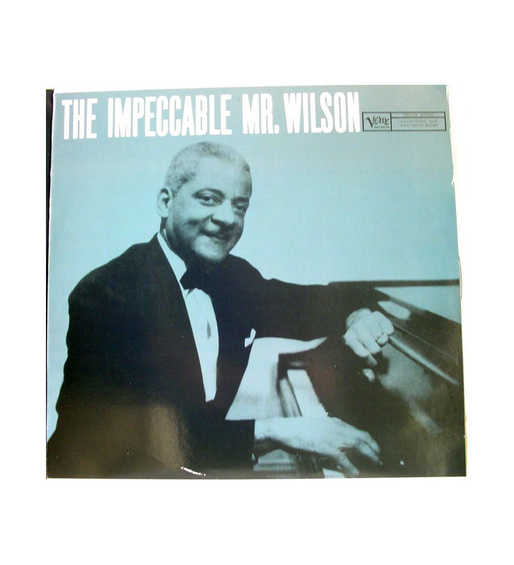 Teddy Wilson - The Impeccable Mr. Wilson (LP, Mono) mesvinyles.fr