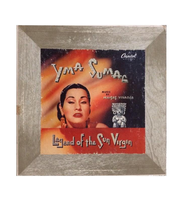 "Yma Sumac - Legend Of The Sun Virgin (10"", Album, Mono) mesvinyles.fr"