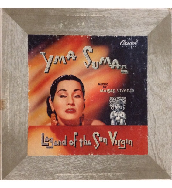 "Yma Sumac - Legend Of The Sun Virgin (10"", Album, Mono)"