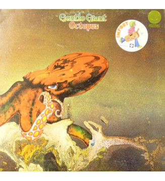 Gentle Giant - Octopus (LP, Album, RE, Gat) mesvinyles.fr