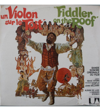 John Williams (4) - Un Violon sur le  Toit / Fiddler On The Roof (Original Motion Picture Soundtrack Recording) (2xLP, Album) me