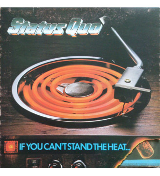 Status Quo - If You Can't Stand The Heat (LP, Album, Bla) mesvinyles.fr