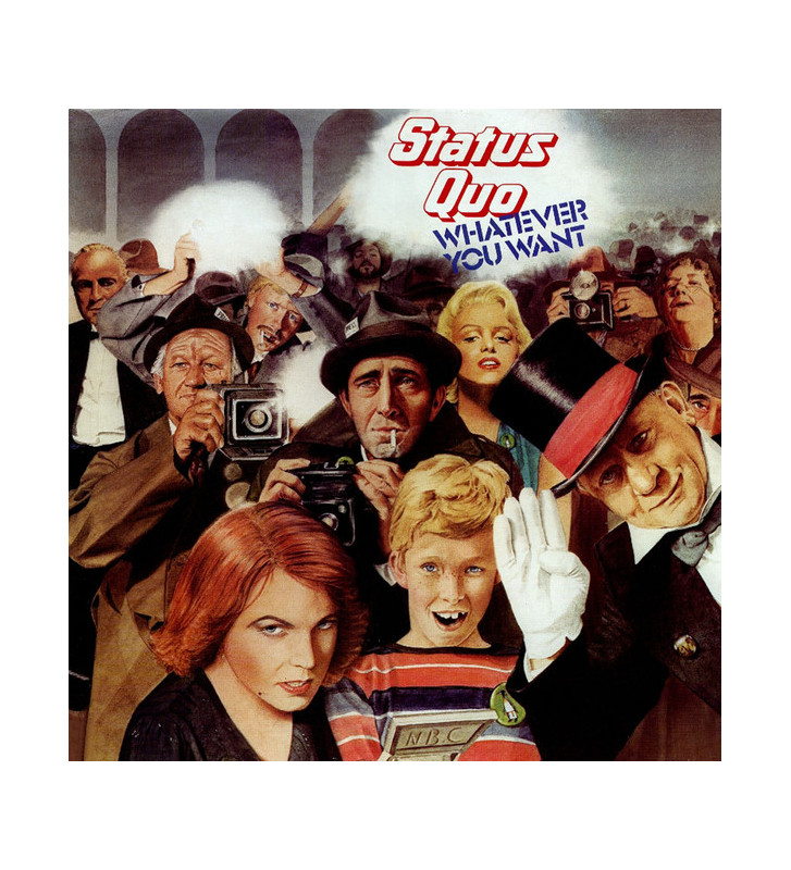 Status Quo - Whatever You Want (LP, Album) mesvinyles.fr