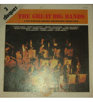 Various - The Great Big Band (3xLP, Comp) mesvinyles.fr