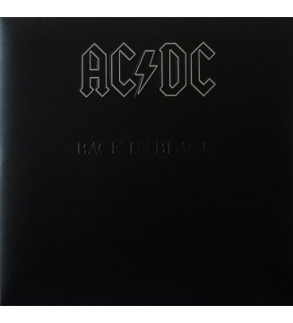 AC/DC - Back In Black (LP, Album, RE, RM, 180)