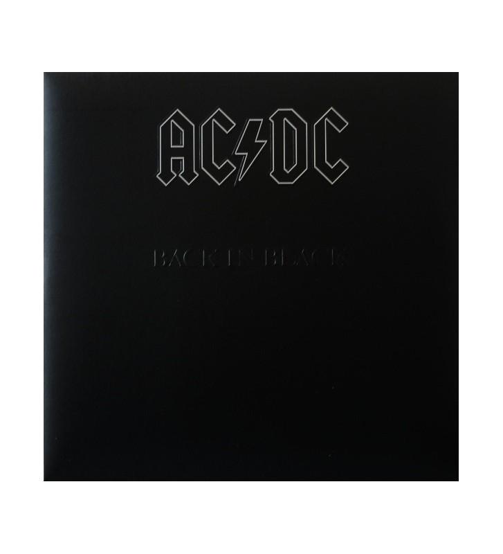 AC/DC - Back In Black (LP, Album, RE, RM, 180) mesvinyles.fr