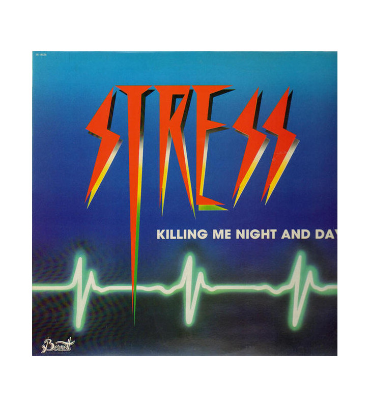 Stress - Killing Me Night And Day (LP, Album) mesvinyles.fr