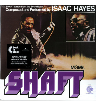 Isaac Hayes - Shaft (2xLP, Album, RE, RM, 180) mesvinyles.fr