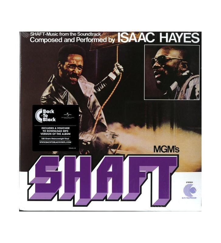 Isaac Hayes - Shaft (2xLP, Album, RE, RM, 180) mesvinyles.fr